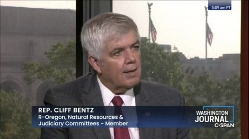 """Rep. Bentz (R-OR) on wildfires: """"People tend to blame climate change"""" but the """"true cause"""" is the """"amount of wood."""""""