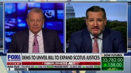 "Sen. Ted Cruz (R-TX) on Dem SCOTUS bill: ""Their objective is to put four left-wing radicals on the Supreme Court ..."""