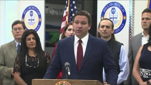 """Gov. Ron DeSantis (R-FL) says they are """"bracing"""" for more deaths as the collapsed building was """"over 80%"""" occupancy."""
