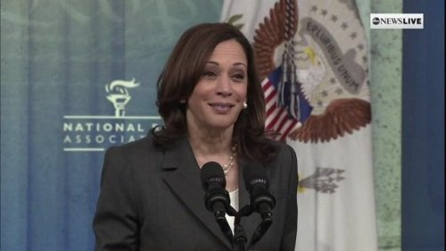"""VP Harris: We confirmed """"more Black women to be circuit court judges in just 6 months than any other administration."""""""
