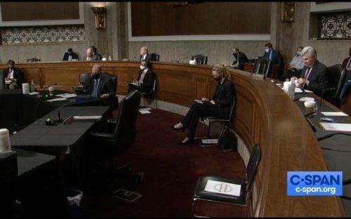 Sen. Lee (R) asks Biden's pick for DOJ civil rights job Kristen Clarke about New Black Panthers voter intimidation case.