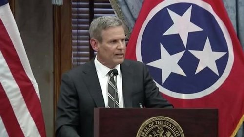 TN Gov. Lee addresses the school shooting in Knoxville. This comes just days after signing a permitless carry bill.