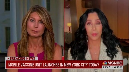 """The one and only Cher discusses vaccine hesitancy: """"I just took everybody that I knew and forced them."""""""