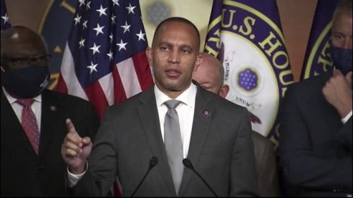 """House Dem. Chair Hakeem Jeffries (D-NY): """"Democrats are doing our damn thing, and we're just getting started."""""""