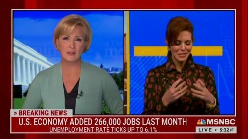 """""""This is a big disappointment and it's a big surprise."""" —Stephanie Ruhle on today's disappointing payrolls report."""