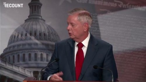 "Sen. Lindsey Graham (R-SC) fear-mongering: ""To the women of Afghanistan: I pray for you ... To the women of America ..."""