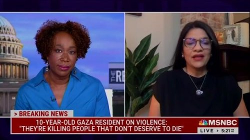 """Rep. Tlaib (D), only Palestinian American in Congress, says she wishes people would """"listen"""" to voices on the ground."""