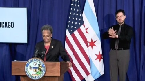 Chicago Mayor Lightfoot responds to horrifying new body cam video of 13-year-old Adam Toledo being killed by police.