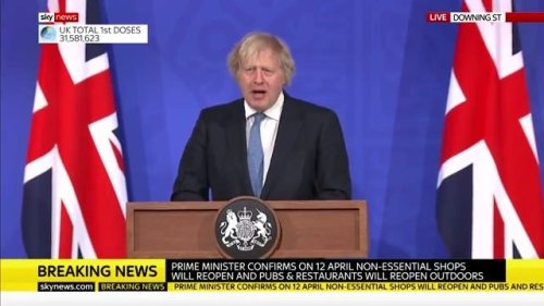 UK PM Boris Johnson says COVID vaccine passports will most likely be used to resume international travel & mass events.