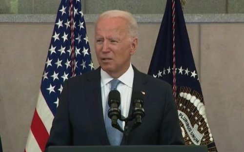 "President Biden: ""The Big Lie is just that: a big lie."""