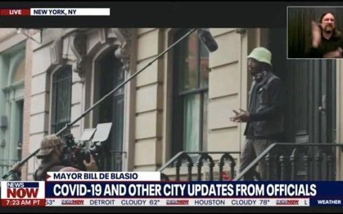 """NYC Mayor Bill de Blasio unveils new COVID recovery ad campaign """"No Stopping New York."""""""