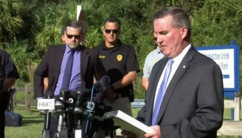 FBI Tampa Special Agent Michael McPherson: Investigators found human remains and Brian Laundrie's personal belongings.