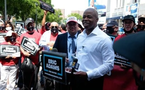 NYC mayoral candidate Eric Adams tells 710WOR why he often refers to himself in the third-person.