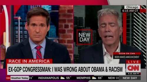 """Former GOP Rep, Walsh: """"I listened to Black Americans, and I understand why it's important to say Black Lives Matter."""""""