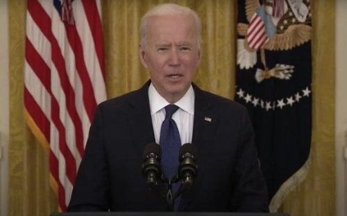"Biden: Anyone who's abusing the unemployment system & is offered a job ""must take the job or lose their unemployment."""