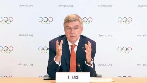 """IOC's Thomas Bach: Testing, social distancing and high vaccination rates """"make the Olympic Village a pretty safe place."""""""