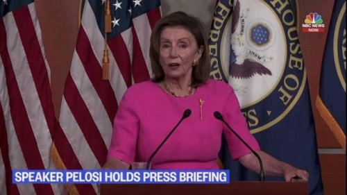 """Speaker Pelosi on gov't shutdown: """"The fmr. president was famous for not paying his bills...They want to do that again."""""""