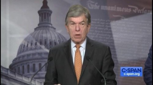 """Sen. Roy Blunt (R-MO): When Stacey Abrams endorsed Sen. Manchin's proposal, """"it became the Stacey Abrams substitute."""""""