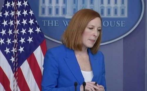 """WH Press Sec. Jen Psaki on why the U.S. isn't yet calling for a ceasefire: """"Our approach is quiet, intensive diplomacy."""""""