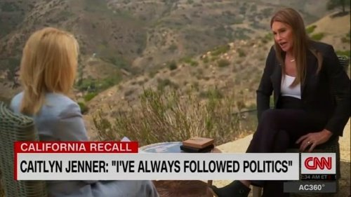 "Caitlyn Jenner on what training she has to be governor of California: ""I have been in the entrepreneurial world."""
