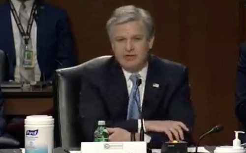"FBI Director Chris Wray: ""Social media has become, in many ways, the key amplifier to domestic violent extremism ..."""