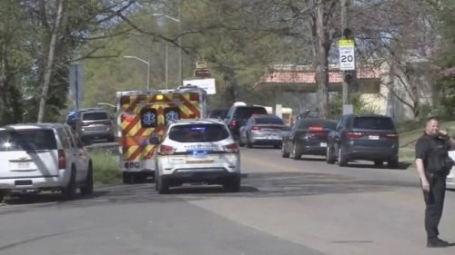 WMBF reports multiple gunshot victims, including a police officer, at a Knoxville, Tennessee high school.