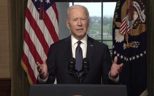 "Biden announces a full troop withdrawal from Afghanistan by September 11: ""… it's time to end America's longest war."""