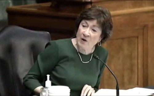 "Sen. Collins (R-ME) to CDC Director Walensky: ""I always considered the CDC to be the gold standard. I don't anymore."""