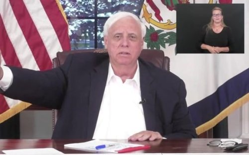 """An exasperated Gov. Justice (R-WV) goes off about the unvaccinated: """"All you're doing is entering the death drawing."""""""