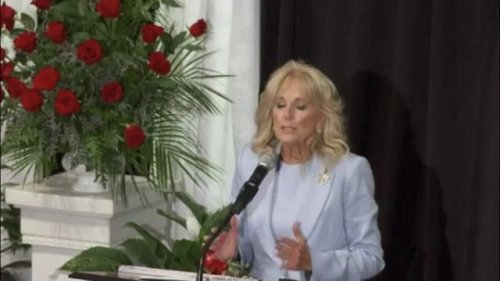 """First Lady Dr. Jill Biden explains how her """"faith was shaken"""" when her son Beau lost his fight with brain cancer."""