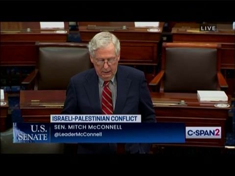 ICYMI: Senate Minority Leader Mitch McConnell rejected calls for a ceasfire between Israel and Hamas Monday.