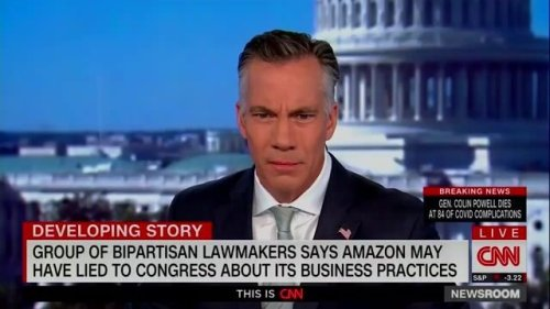Five U.S. House lawmakers accuse Amazon and founder Jeff Bezos of misleading Congress or lying about business practices.