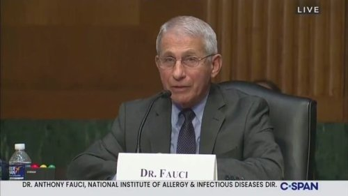 "Dr. Fauci hits Sen. Rand Paul (R-KY) on COVID research: ""No matter how many times you say it, it didn't happen."""