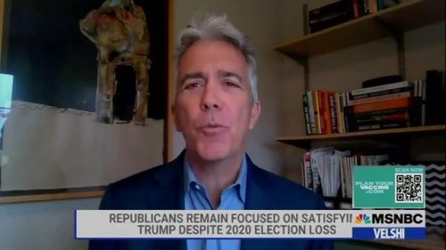 "Former Republican Rep. Joe Walsh: ""The Republican Party is a cult."""