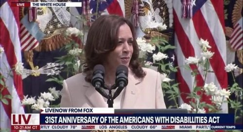 """VP Harris on the 31st anniversary of the Americans with Disabilities Act: """"… there is still so much work to be done ..."""""""