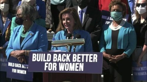 """Speaker Pelosi on SCOTUS abortion ruling: """"You have to wonder what the...justices were thinking. Or were they thinking?"""""""