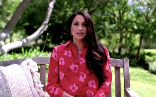 Meghan Markle urges global vaccine equity as pandemic erodes gender equality gains.