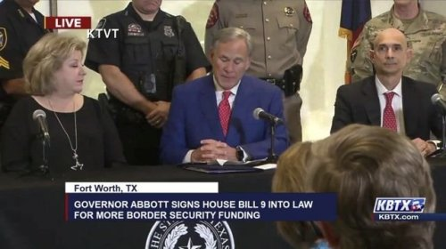 """Gov. Abbott (R-TX) defends no rape exemption in abortion bill: """"I have processed more rape kits than any [TX] governor."""""""