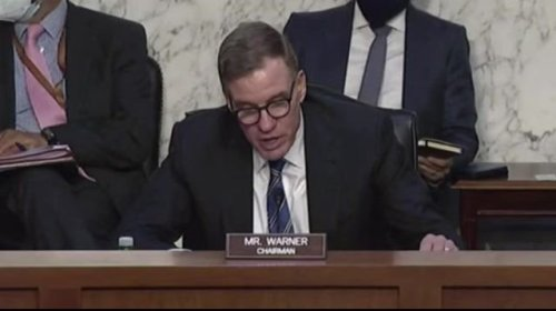 Sen. Warner: Witnesses declined to testify in China national security threat hearing for fear of retribution by China.