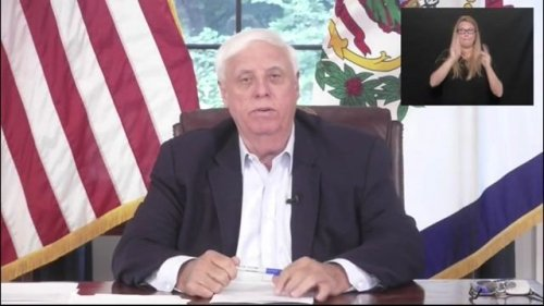 """Gov. Jim Justice (R-WV): """"You have an incredible chance, if you haven't been vaccinated, of really having a problem."""""""