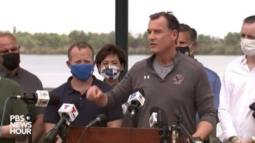 "Rep. Suozzi (D-NY) at U.S.-Mexico border: ""The federal government ... has failed to address this problem for 30 years."""