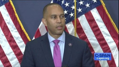 """Dem. Chair Jeffries (NY): Rioters were there in part """"to assassinate Nancy Pelosi. What does Kevin McCarthy not get...?"""""""
