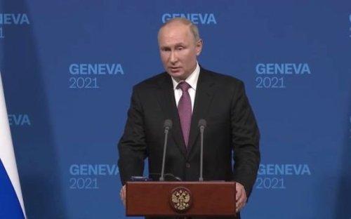 "Vladimir Putin: ""President Biden is an experienced statesmen … He is very different from President Trump."""