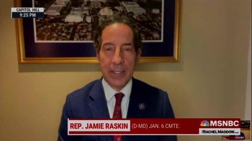 Rep. Jamie Raskin (D-MD) says House subpoenaed virologist Steven Hatfill, who advised the Trump White House on COVID.