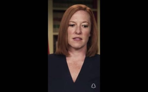 """WH Press Sec. Psaki tells Peter Hamby why the White House engages with Fox News: """"They might listen to medical experts."""""""