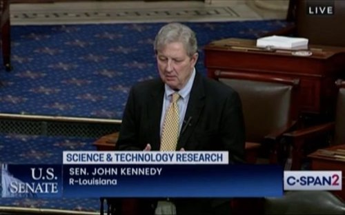 Here's Sen. John Kennedy (R-LA) talking about not knowing what's in legislation up for a vote. Always a good sign.