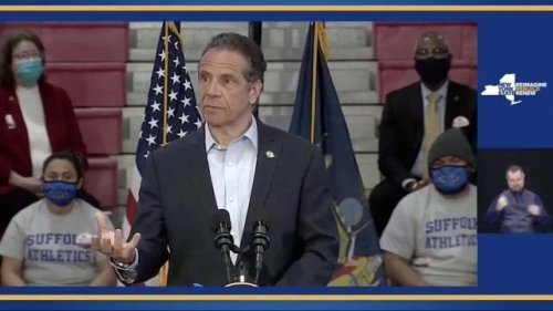 Gov. Cuomo (D) announces the state will directly distribute COVID vaccines to universities and colleges across New York.