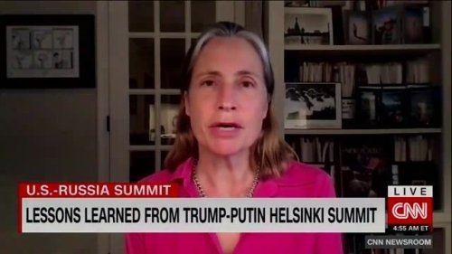 """Fiona Hill: Trump-Putin summit in Helsinki was so """"humiliating"""" she """"looked around to see if there was a fire alarm."""""""