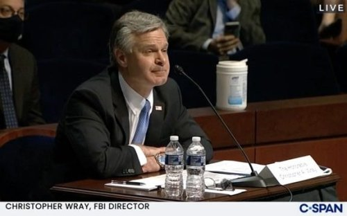 Rep. Jordan (R-OH) repeatedly asks FBI Director Wray about raid on Rudy Giuliani's apartment during oversight hearing.
