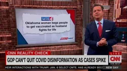 """""""Florida has got nearly 25 times the number of people hospitalized for COVID than in all of Canada."""" —CNN's John Avlon"""